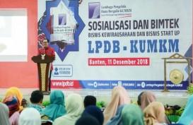 LPDB Komitmen Bantu Pengembangan Bisnis Pelaku KUMKM Banten