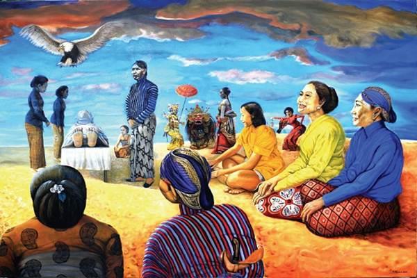 Lukisan Semar Samar-samar - Istimewa