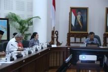 Menko Puan dan Wapres Bahas Penanganan Dampak Bencana NTB dan Sulteng
