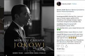 Darwis Triadi Memotret Jokowi Tanpa Rekayasa