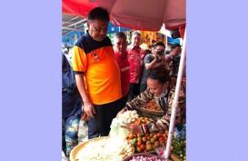 Sidak Pasar, Gubernur Sulut Jamin Harga Bahan Pokok Stabil Jelang Natal dan Tahun Baru