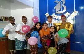 Kantor Perwakilan Bali Rayakan HUT Ke-33 Bisnis Indonesia