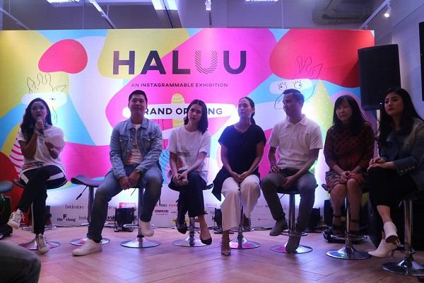 Konferensi Pers Sekaligus Peresmian Pembukaan Event Wisata Selfie di Indonesia Bertajuk Haluu -  Istimewa