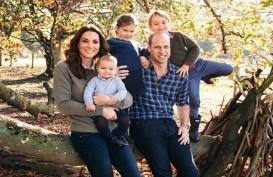 Intip Kartu Natal Kate Middleton dan Pangeran William