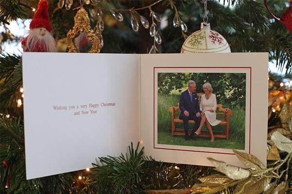 Kartu Natal dari Pangeran Charles - Istimewa