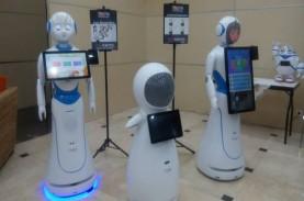 Puri Robotics Perkenalkan Robot Pelayan ke Indonesia,…