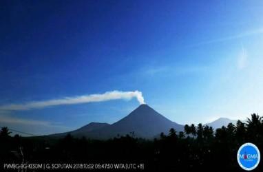 Gunung Soputan Erupsi, Jarak Aman Beraktivitas Dalam Radius 4 KM