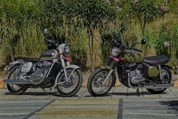Dua produk sepeda motor Jawa. - Jawa Motorcycles Official