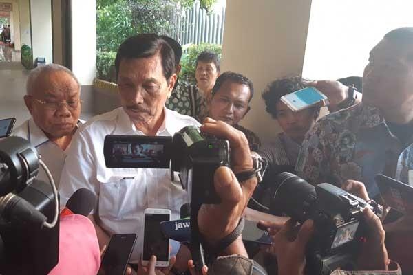 Menteri Koordinator Bidang Kemaritiman Luhut Pandjaitan. - Bisnis/Jaffry Prabu Prakoso