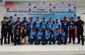 1.274 Teknisi Suzuki Adu Hebat di Ajang Skill Competition 2018