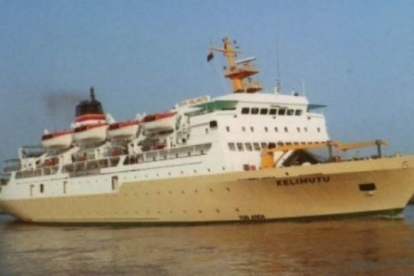 Kapal Penumpang Pelni Beroperasi Di Pelabuhan Manado 2019