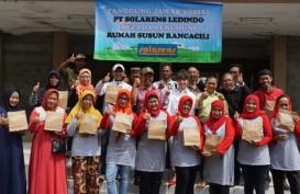 Solarens Ledindo CSR Bagikan 670 Lampu LED di Bandung