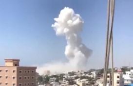 Dua Bom Mobil Meledak di Dekat Kediaman Presiden Somalia, 13 Tewas