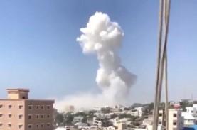 Dua Bom Mobil Meledak di Dekat Kediaman Presiden Somalia,…