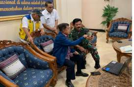 Wapres Jusuf Kalla Pimpin Rapat Penanggulangan Tsunami Anyer