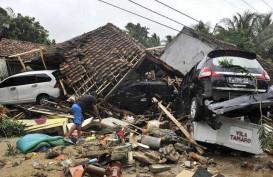 Kementerian PUPR Kerahkan Alat Berat Tanggap Darurat Pascatsunami Selat Sunda