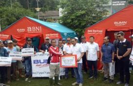 BUMN Peduli Salurkan Bantuan Darurat Tsunami di Lampung