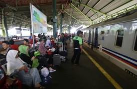 Penumpang Periode Libur Natal KA di Surabaya 226.942 Orang
