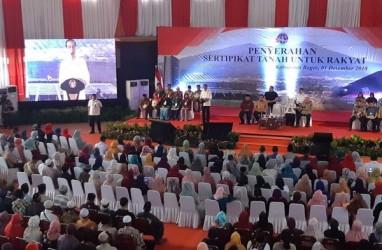 Presiden Jokowi Hadiri Acara Pembagian 4.000 Sertifikat Tanah di Bogor