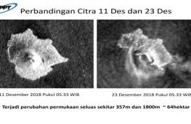 Sejak Kamis Pagi Status Gunung Anak Krakatau Meningkat ke Level Siaga