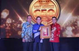 Jahja Setiaatmadja Raih Penghargaan Indonesia Most Admired CEO 2018