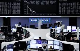 Reli Wall Street Memudar, Indeks Stoxx Ditutup Melemah
