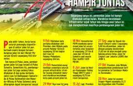 Pembangunan Jalan Tol Kian Masif Sepanjang 2018