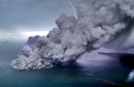 Erupsi Mulai Mereda, Dentuman dari Anak Krakatau Berkurang