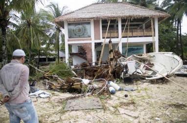 Volume Tubuh Gunung Anak Krakatau Berkurang. Jumlah Korban Tsunami Bertambah