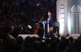 Gemuruh Hadirin Perayaan Natal Minta Sepeda, Ini Reaksi Jokowi