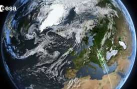 Satelit Copernicus Bantu Petakan Kerusakan akibat Tsunami Selat Sunda