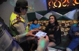 Tim Gabungan Razia Tempat Hiburan di Manado