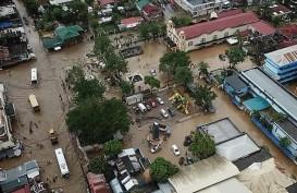 Topan di Filipina Picu Banjir & Longsor, 22 Tewas