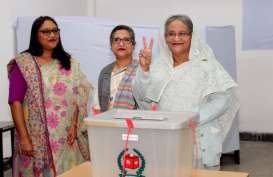 Koalisi PM Hasina Diklaim Jadi Pemenang dalam Pemilu Bangladesh