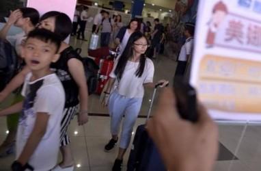 """Wisatawan China Tak Lagi """"Kuasai"""" Bali. Kunjungan Menurun 37,51%"""