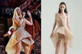 Gwen Stefani & Khloe Kardashian Kenakan Busana Desainer…
