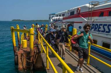 Kapal di Karimunjawa Beroperasi Jumat, 244 Wisatawan bisa Pulang