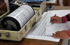 Indonesia baru Punya 175 Seismograf, Jepang sudah Pasang 1.200 Unit