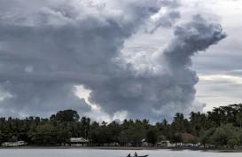 Gunung Anak Krakatau Tercatat 46 Kali Letusan Dalam 12 Jam