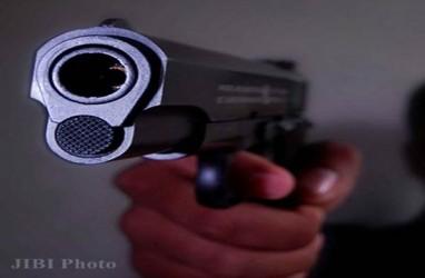 Polisi Tembak Mati Empat Orang Pelaku Perampokan Bersenpi