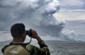Gunung Anak Krakatau Alami 46 Kali Kegempaan Letusan