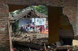Pemprov Banten Fokus Rehabilitasi Rumah Korban Tsunami Selat Sunda