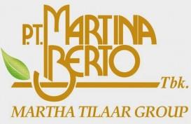 Martina Berto (MBTO) Targetkan Penjualan Rp790 Miliar Tahun Ini