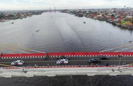 Fasilitas Jembatan Musi IV Kerap Dicuri