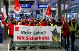 Staf Keamanan Bandara Mogok, Ratusan Penerbangan di Jerman Dibatalkan