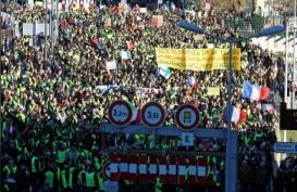 Minggu Ke-9 Protes Rompi Kuning di Prancis, Jurnalis Jadi Target Penyerangan