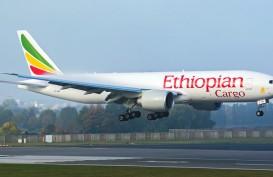 Dua F-16 TNI AU Paksa Pesawat Kargo Ethiopian Airlines ET-AVN Mendarat di Batam