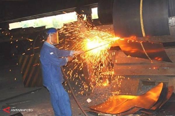 PT Krakatau Steel - Antara