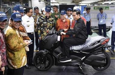 Yamaha Raih Penjualan Sepeda Motor 1,45 Juta Unit