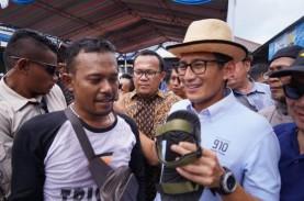 Saat Sandi Terima Curhatan Pedagang Kecil Tangerang